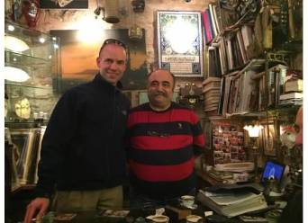 Mike and Nick, The Grand Bazaar, Istanbul