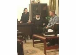 Coptic Prelate, Cairo